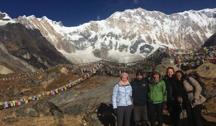 Annapurna Base Camp Trek at ABC