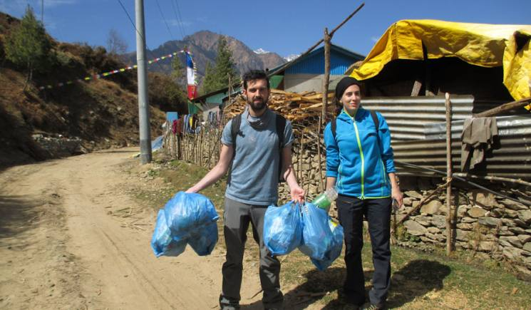 Clean-up and Educational trek on the Tamang Heritage Trail