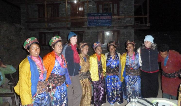 cultural program in Gatlang Tamang Heritage Trail- Langtang Valley Trekking